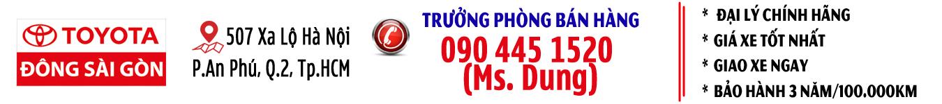 Công Ty CP Toyota Đông Sài Gòn